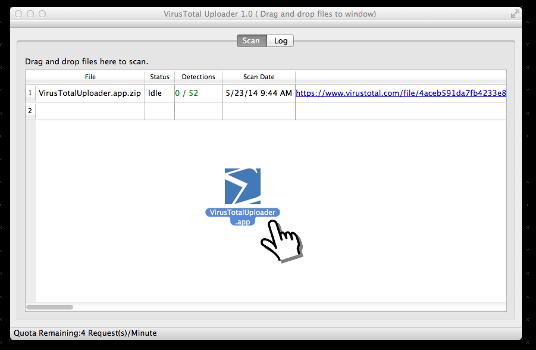 "VirusTotal Mac OS X Uploader - 可疑文件上传查询工具[OS X]丨apprcn.com ""反""斗软件"